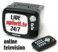 http://upforit.tv online 24/7 television Local Live Broadcasting http://mogulus.co.uk/upforit