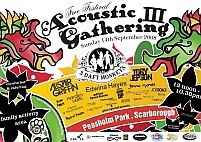 Acoustic Gathering 3, Sunday 14th September 2008 at Peasholm Park, Scarborough, UK